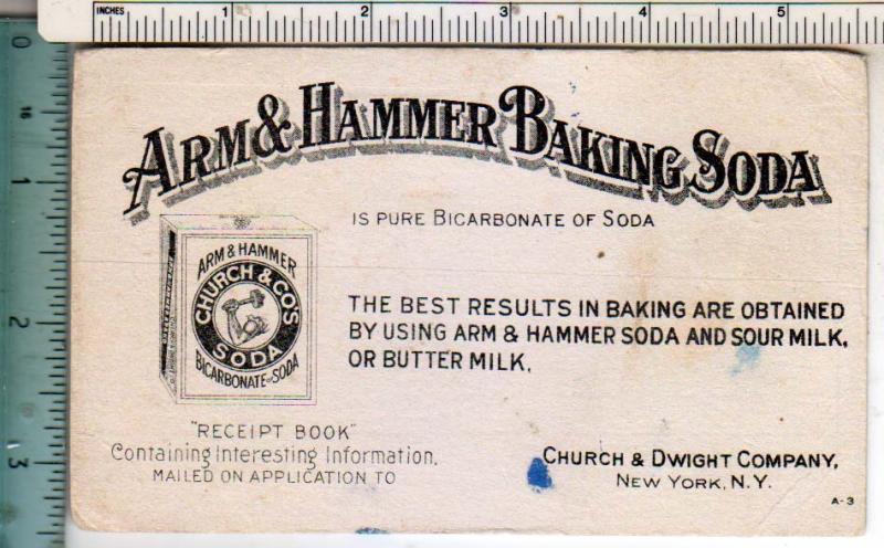 Arm & Hammer Baking Soda, NYC