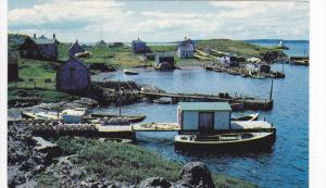 Sampson's Cove,  fishing coves and villages within Isle Madame,  Cape Breton,...