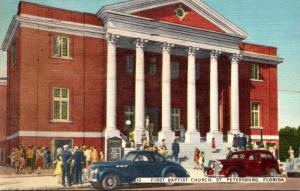 Florida St Petersburg First Baptist Church 1953