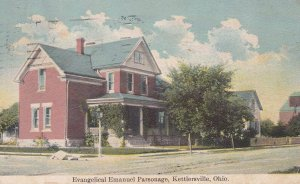 KETTLERSVILLE, Ohio, PU-1930; Evangelical Emanuel Parsonage