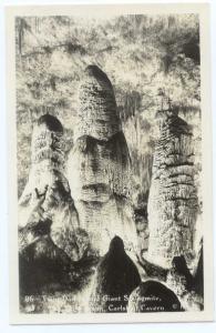 RP Twin Dome & Giant Stalagmite Big Room Carlsbad Caverns NM