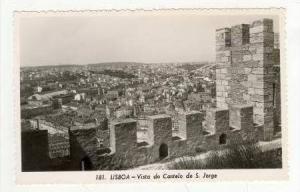 RP Lisboa, Portugal, 1940s Vista do Castelo de S. Jorge