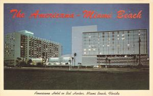 Night View, Americana Hotel, MIAMI BEACH, Florida, 40-60´