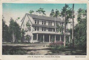 OCEAN PARK , Maine, 1933 ; John M. English Hall