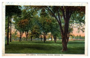 1929 East Campus, State Normal School, Indiana, PA Postcard *5N(3)31
