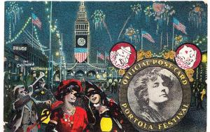 Official Post Card, Portola Festival 1909