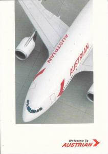 AUSTRIAN Airlines Airbus A310-324 Airplane , 60-80s