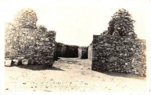 LP07  Gran Quivira Mission  New Mexico Postcard RPPC National Monument