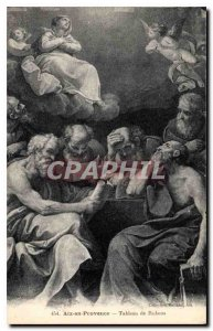 Old Postcard Aix en Provence Table Rubens