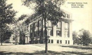 Carnegie Science Hall, Bates College in Lewiston, Maine