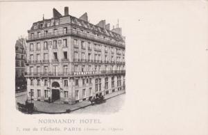 Normandy Hotel , PARIS , France , 1890s