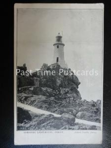 Old PC Corbiere Lighthouse JERSEY - Albery Smith - ADVERT: HOTEL DE L'EUROPE