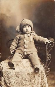 Young child dressed warm Child, People Photo Unused