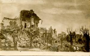 France - Longwy, WWI. Destruction (Military)   *RPPC