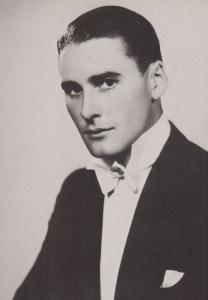 Errol Flynn Stars Of The Silver Screen Rare BBC Library Photo Postcard