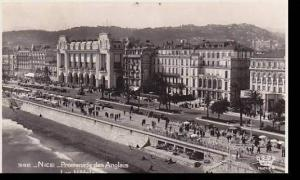 France Nice Promenade des Anglais Les Hotels Real Photo