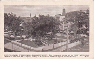 Massachusetts Springfield Court Square