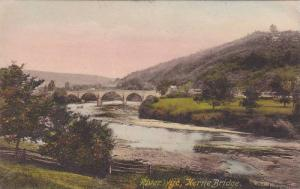 River Wye, Kerne Bridge, Wales, England, UK, 1900-1910s