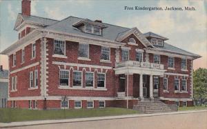 Free Kindergarten, JACKSON, Michigan, PU-1915