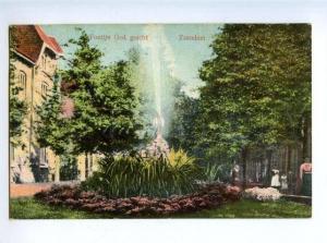 169754 Netherlands ZAANDAM Fountain ADVERTISING CACAO BENSDORP
