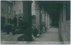 CARTOLINA d'Epoca ROMA - Fotografica: NORTH AMERICAN COLLEGE