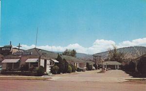 Exterior,  Blue and White Motor Court,  Lakeshore Drive,  Penticton,  B.C.,  ...
