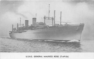 U.S.N.S. General Maurice Rose, (T-AP16)