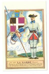 34th La Sarre Regiment French Troops Fort Ticonderoga