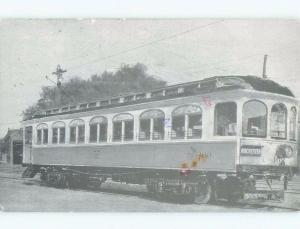 1980's CIRCA 1903 TRAIN CAR WITH ROCHESTER SIGN Rochester New York NY E6710