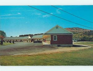 Unused Pre-1980 OLD CARS & LINNELL MOTEL Rumford Maine ME u2101