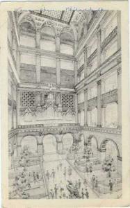 The Grand Court at John Wanamaker Philadelphia Pennsylvania