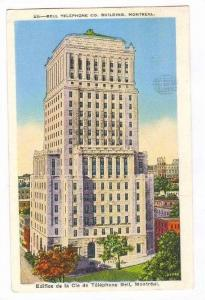 BELL Telephone Building , Montreal , Quebec, Canada, PU-1938