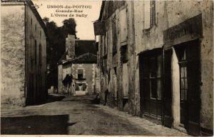CPA Chauvigny Chateau (613263)