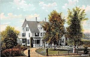 Churches Vintage Postcard Concord, NH, USA Vintage Postcard Mrs Mary Baker Ed...