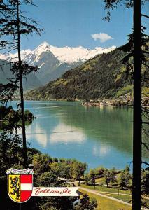 Austria Salzburg Zell am See mit Kitzsteinhorn 3204 m