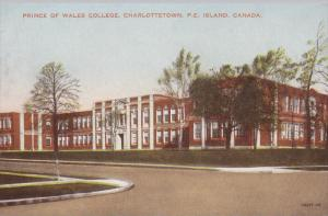 Prince of Wales College, Charlottetown, Prince Edward Island, Canada, 1920-30s