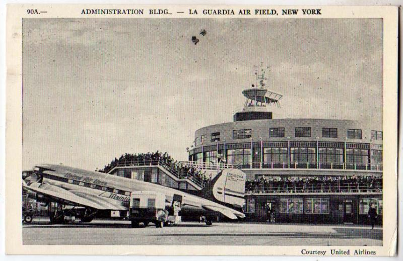 Admin Bldg, La Guardia Air Field, NYC
