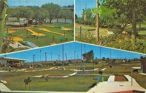 San Angelo TX Texas Putting Courses Postcard
