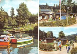 Wilhelmsthal bei Eisenach Zentrales Pionierlager Maxim Gorki Boats