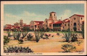 Arizona TUCSON U.S. Veteran's Hospital - pm1937 - LINEN