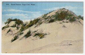 Sand Dunes, Cape Cod, Mass