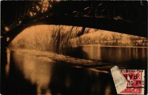 CPA PARIS EXPO 1925 Cascades lumineuses Pont Alexandre III (860253)