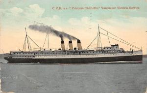 BF37204 princess chalotte vancouver canada victoria service  Boat Ship Bateaux