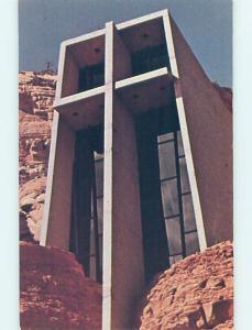 Unused Pre-1980 CHURCH SCENE Sedona Arizona AZ p3919
