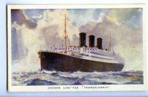 LS1110 - Anchor Lines Liner - Transylvania - artist - postcard