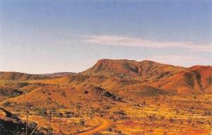Australia Mount Nameless Tom Price Panorama