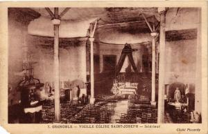 CPA Grenoble Vieille Eglise Saint-Joseph interieur (685161)