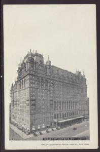 Waldorf Astoria Hotel,New York,NY Postcard