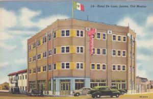 Hotel De Luxe, Juarez, Old Mexico, 1930-1940s