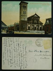 St Paul's Catholic Church Queen East Toronto 1914